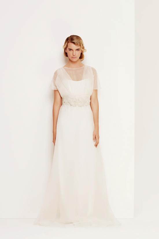 max mara wedding gowns03 Max Mara Bridal Fall Winter 2013/14 Collection