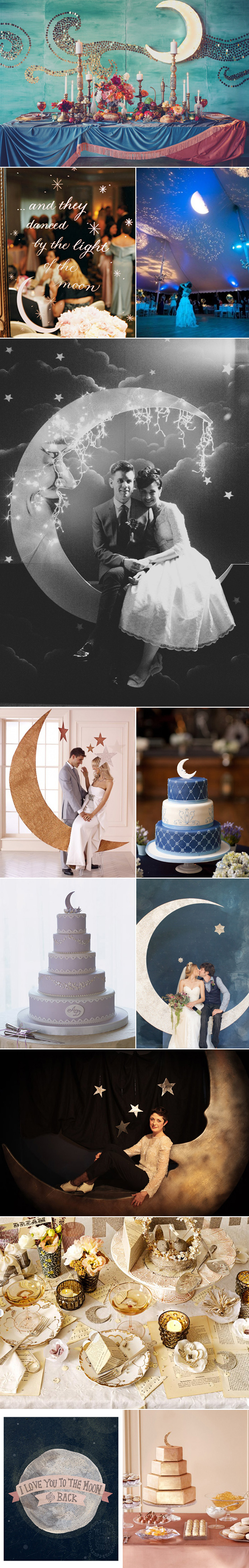 moon wedding inspiration