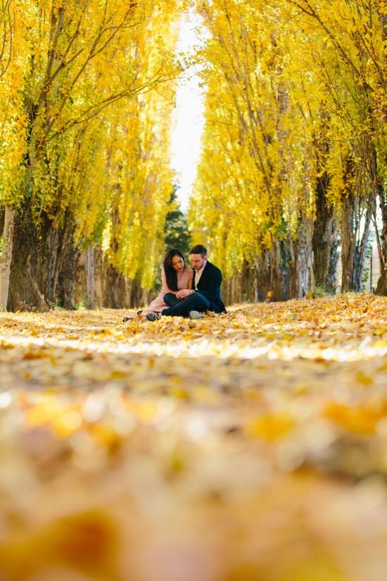 pic21yellowgroundshot1 550x825 Chris and Audreys Autumn Love Story Shoot