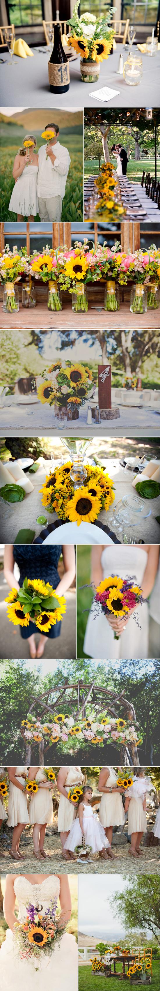sunflower wedding inspiration02