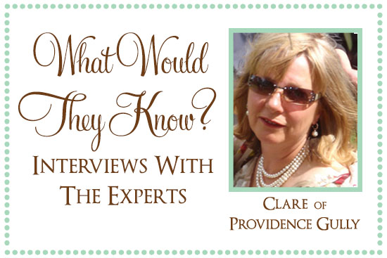 Clare of Providence Gully What Would They Know? Clare of Providence Gully