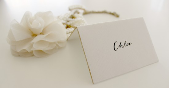 21 DIY Placecards - Crafted