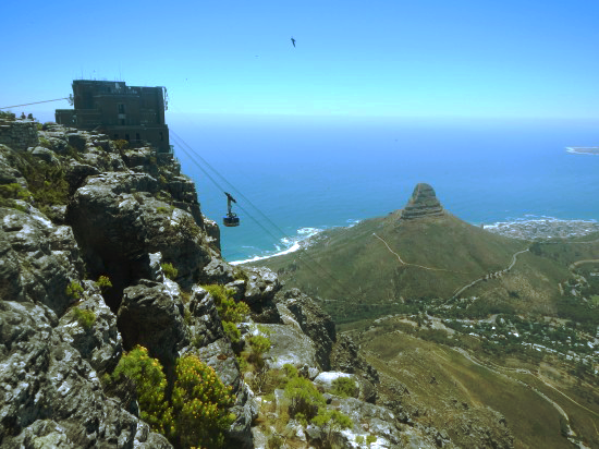 Table Mountain South Africa My Big Five of South Africa Top Five Places To Visit In South Africa
