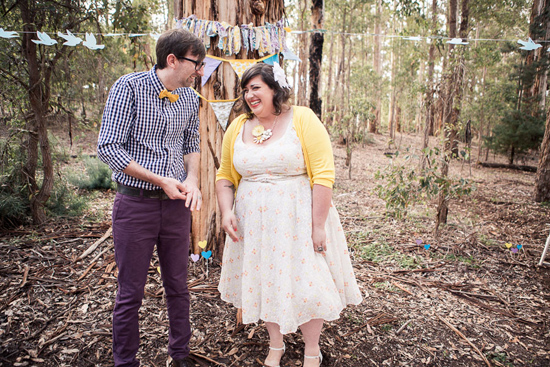 colourful diy wedding02 Renee and Ross Colourful DIY Wedding