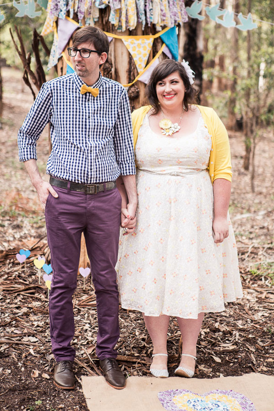 colourful diy wedding06 Renee and Ross Colourful DIY Wedding