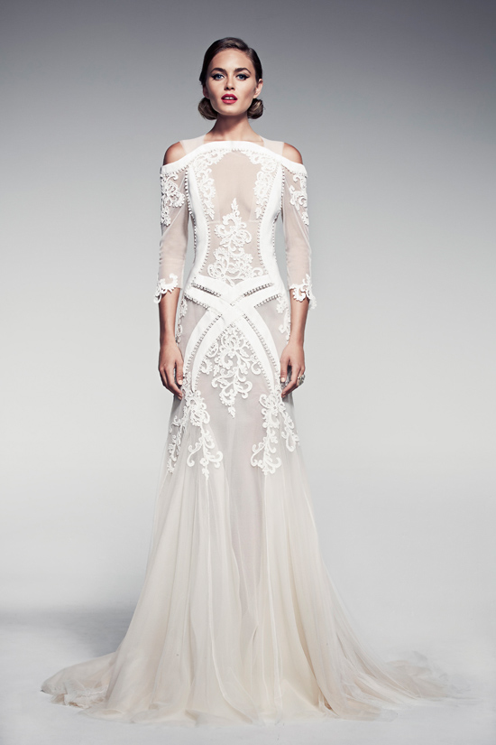 pallas couture fleur blanche collection03 Pallas Couture Fleur Blanche Spring/Summer 2014 Bridal Collection