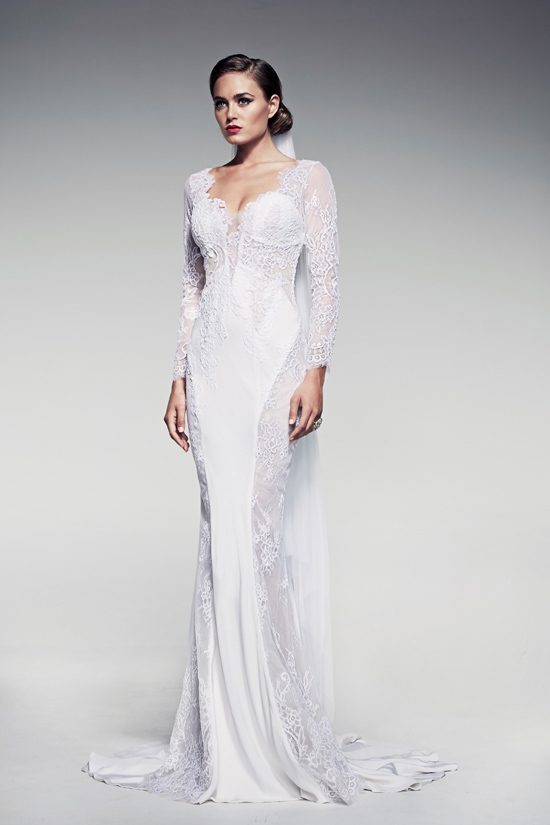 pallas couture fleur blanche collection06 Pallas Couture Fleur Blanche Spring/Summer 2014 Bridal Collection