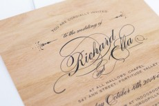 wooden wedding invitations02