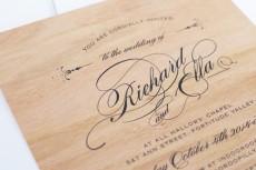 wooden wedding invitations02