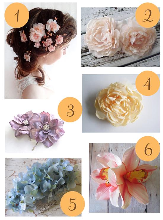 Spring hair Flowers