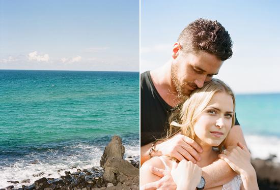 beach engagement003 Rebekah and Tristans Beach Engagement