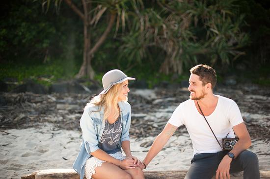 beach engagement007 Rebekah and Tristans Beach Engagement
