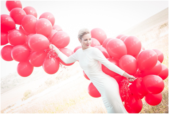 99 Red Balloons wedding inspiration01 99 Red Balloons Wedding Inspiration
