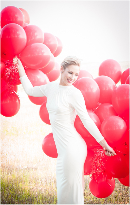 99 Red Balloons wedding inspiration05 99 Red Balloons Wedding Inspiration