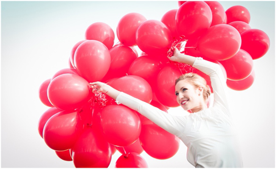 99 Red Balloons wedding inspiration06 99 Red Balloons Wedding Inspiration
