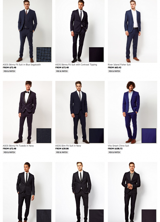 ASOS Mens Suits 550x763 Why Suit Hire Is A Bad Idea