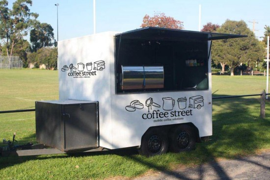 Coffeestreet Mobile Coffee Solutions Event and Festival Cart and Barista Hire in Melbourne 550x367 Wedding Food Trucks & Carts In Victoria