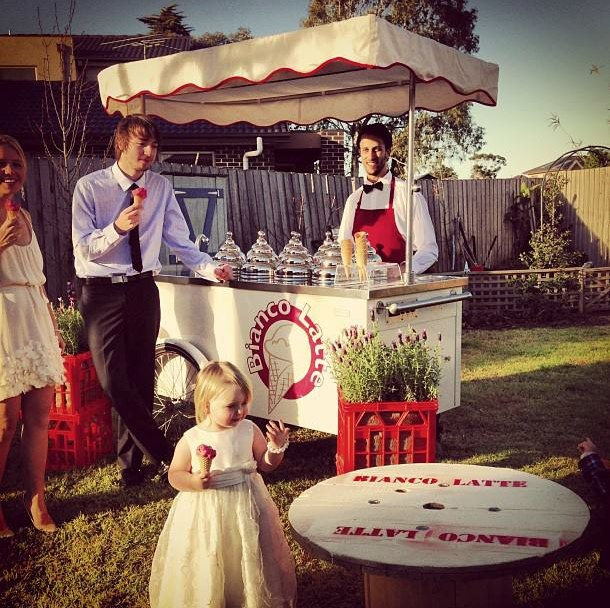 Ice Cream Cart Wedding Food Trucks & Carts In Victoria