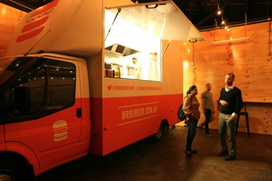 MrBurger melbourne food truck 550x366 Wedding Food Trucks & Carts In Victoria