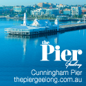 The Pier, Geelong Made banner