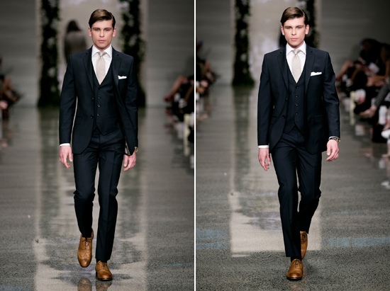 crane brothers men suit collection 201304 Crane Brothers 2013 Collection Groom Suit Inspiration
