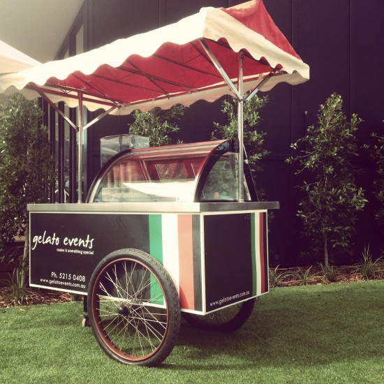 gelato cart 550x550 Wedding Food Trucks & Carts In Victoria