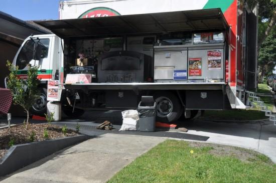 the pizza truck 550x365 Wedding Food Trucks & Carts In Victoria