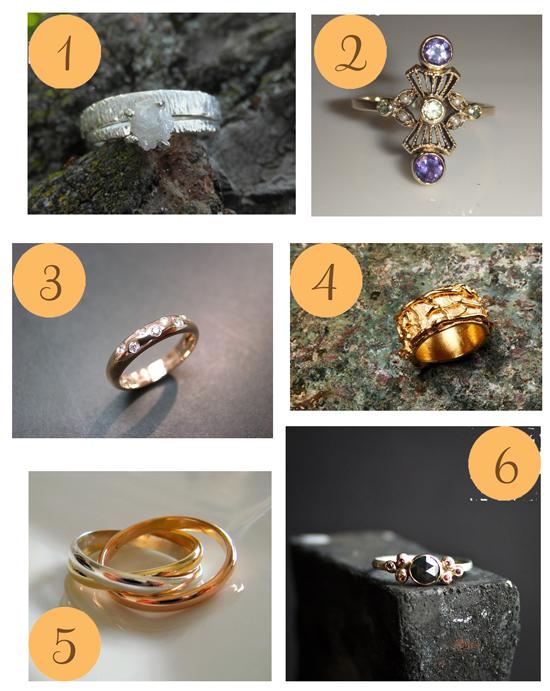 Pretty Rings Etsy Roundup Pretty Rings
