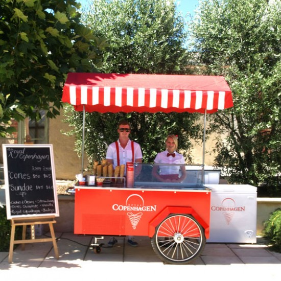 adelaide icecream cart