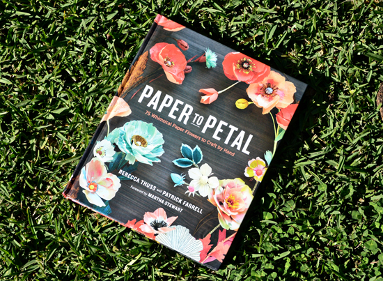 paper flower book by rebecca thuss
