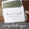 Simple Things Press Weddings banner