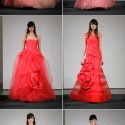 vera wang pink gowns