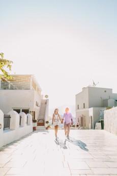 Brennan & Vanessa Santorini Enagagement
