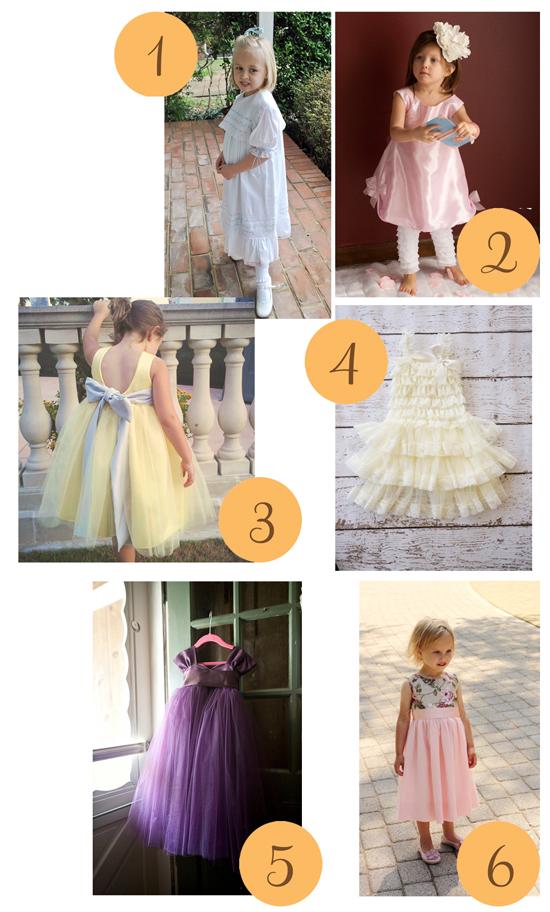 Flower girl dresses 2