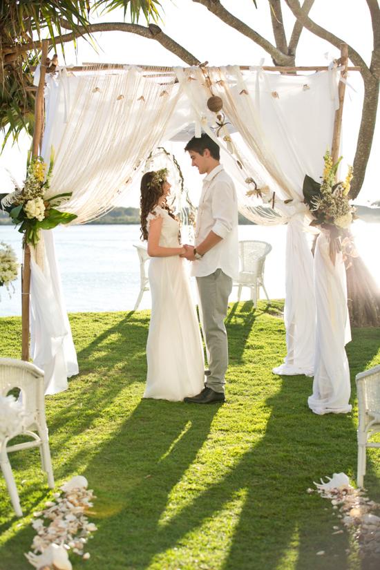waterside bohemian wedding 029