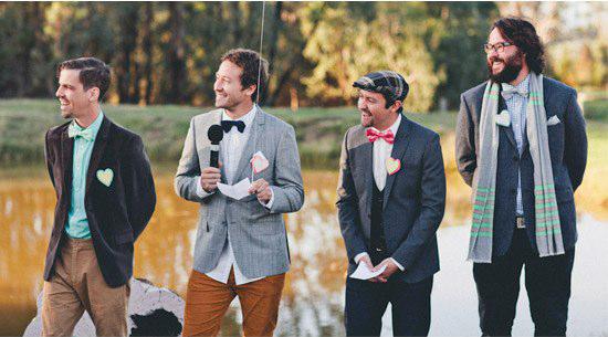 Top Ten Groomsmen Style Polka Dot Bride Best Of Groom 2013