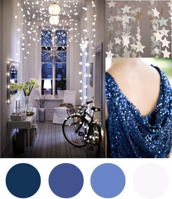 blue and white wedding colour palette