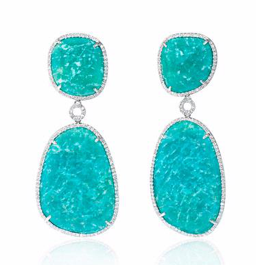 amazonite-diamond-earrings