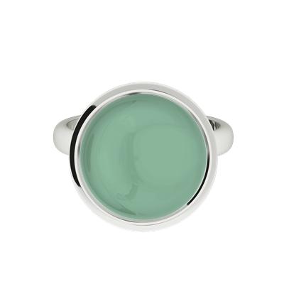 Jade-cabochon-silver-ring