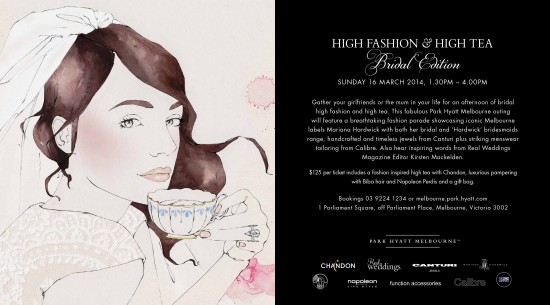 E Flyer High Fashion High Tea Bridal Edition 550x305 Friday Roundup