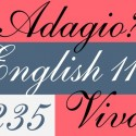 English 111 - Webfont & Desktop font « MyFonts