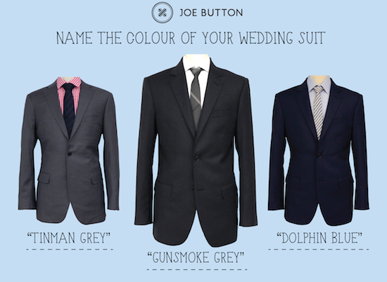Polkda Dot JB Name Your Suit For The Groom Win A Custom Made Suit from Joe Button worth $600!
