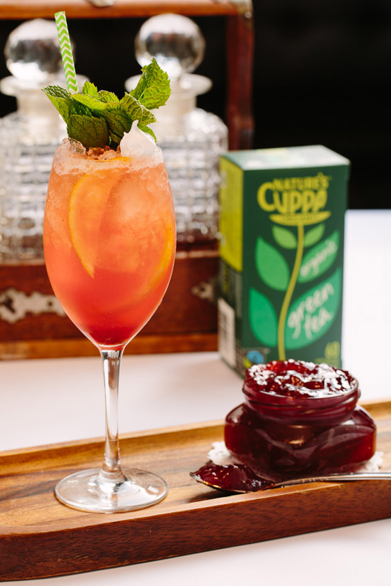 The Green Harvest Cocktail