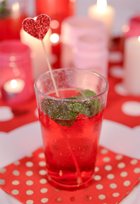 blushing bubbles cocktail
