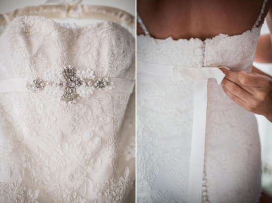 bridal gown details 550x411 Our Destination Wedding In Thailand Heaven
