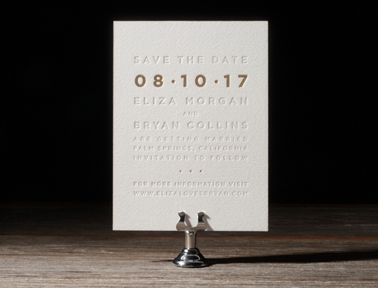 modern letterpress invitations015 Bella Figura 2014 Letterpress Invitation Collection