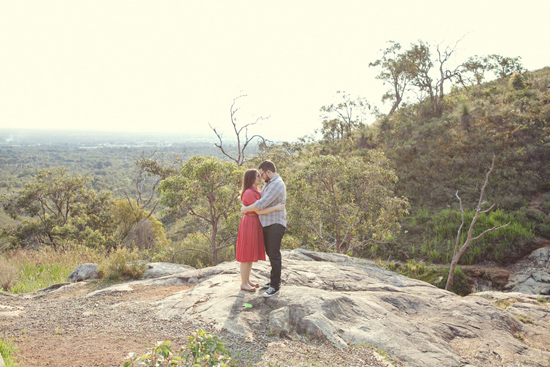 perth hills engagement017 Sandra and Daves Perth Hills Engagement Photos