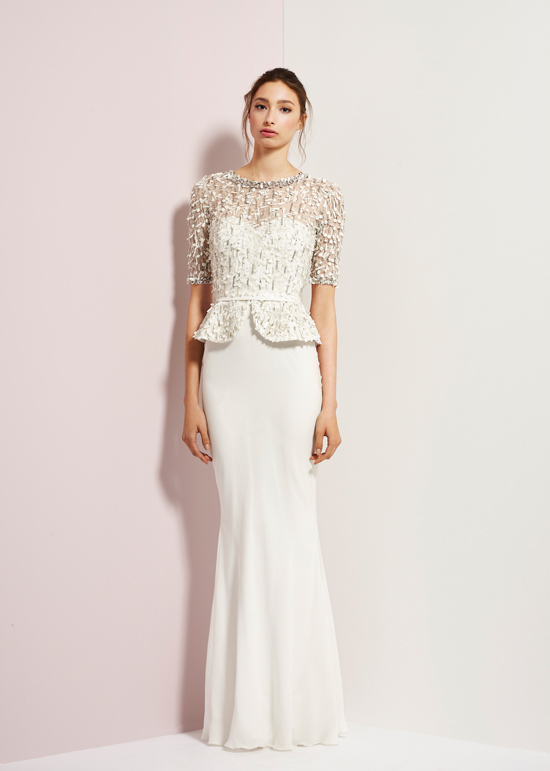 rachel gibert gowns003 Rachel Gilbert Autumn Winter 14 Serenity Collection