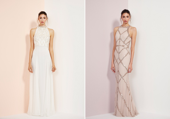 rachel gibert gowns008 Rachel Gilbert Autumn Winter 14 Serenity Collection