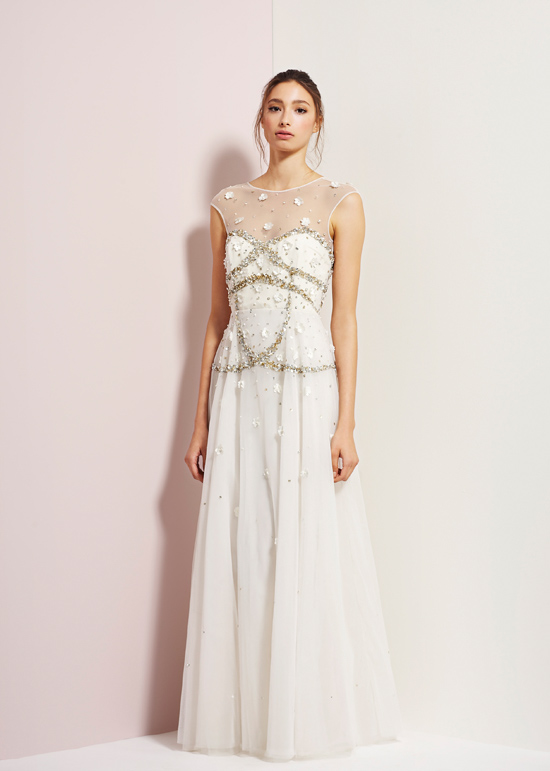rachel gibert gowns009 Rachel Gilbert Autumn Winter 14 Serenity Collection